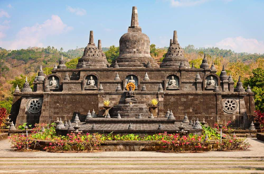 Buddhist temple of Banjar, North Bali, Indonesia