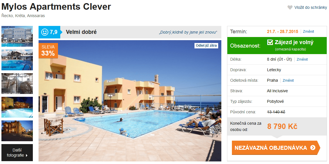 Kréta all inclusive