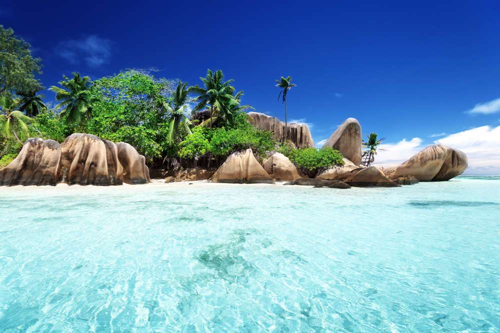 Anse Source d'Argent beach, La Digue island, Seyshelles